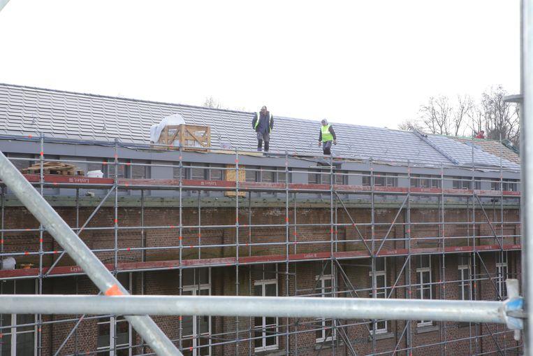 Nieuwe dakbedekking: 1,5 miljoen euro.