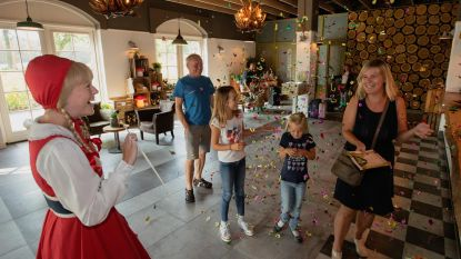 Event-Team strikt Liv Van Aelst