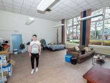 Jims eerste kamer is een heel klaslokaal in Het Steenhuys in Malden: 'Ik heb écht geluk gehad'