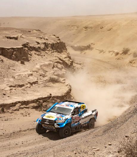 Erik van Loon wil in slot van Dakar Rally nog een keer top-10 rijden