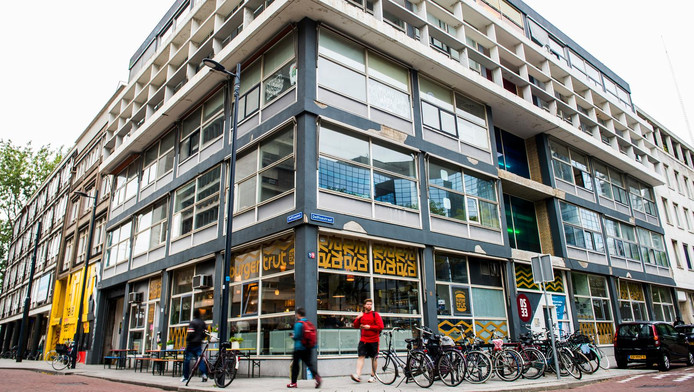 Het Schiekadeblok bij de Delftsestraat.