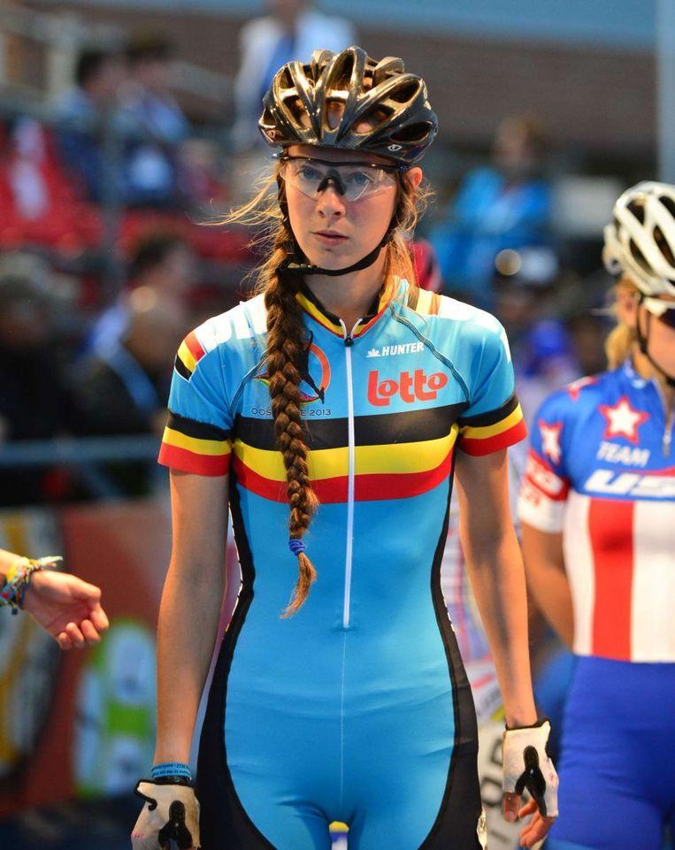 Sandrine Tas is de onbetwiste kopvrouw bij de Belgen