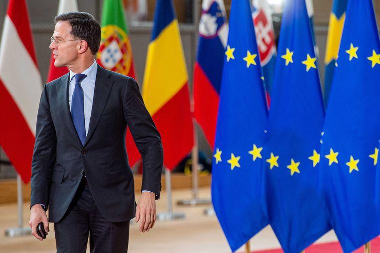 Minister-president Mark Rutte. Beeld ANP