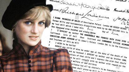 Testament van prinses Diana werd in alle stilte aangepast: deze bedragen ontvingen prins Harry en William