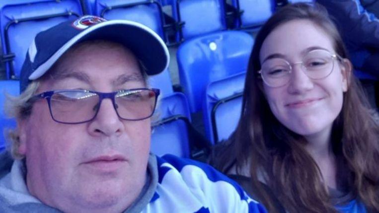 Kevin Keiley (55) uit West-Sussex is supporter van Reading FC, bijgenaamd de Royals.