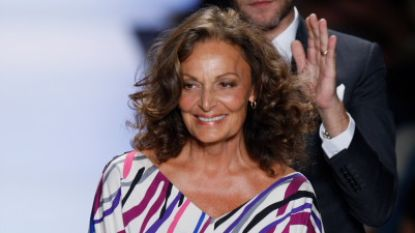 Modeontwerpster Diane von Fürstenberg wordt ereburger van Brussel