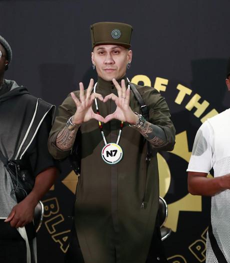 Meet and greet met Black Eyed Peas in Vondel CS