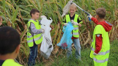 Basisscholen steken handen uit de mouwen tegen zwerfvuil