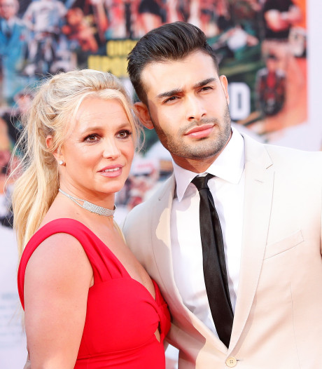 Britney Spears debuteert vriend - of is het haar verloofde? - op rode loper