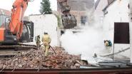 Brand op bouwwerf nadat arbeiders metalen steunbalken weghalen