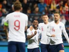 Engeland haalt na vroege achterstand uit tegen Montenegro