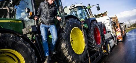 Supermarkten naar rechter om kerstacties boze boeren