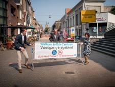 In de loop van 2021 camera's om verkeer naar voetgangersgebied in Ede te controleren