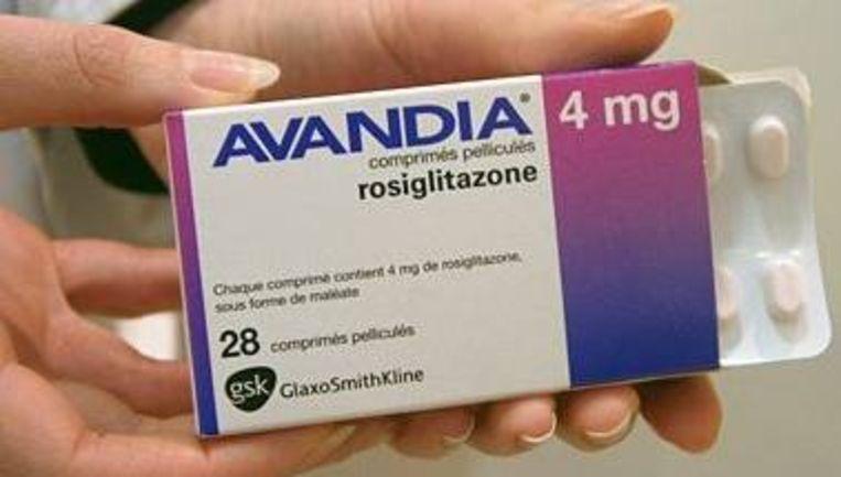 Avandia, dat de kans op een hartaanval vergroot, mag in de EU niet meer worden verkocht. Beeld