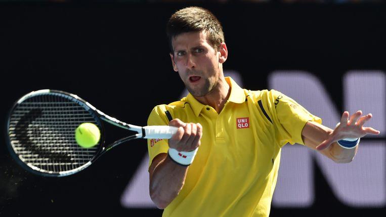 Novak Djokovic. Beeld null