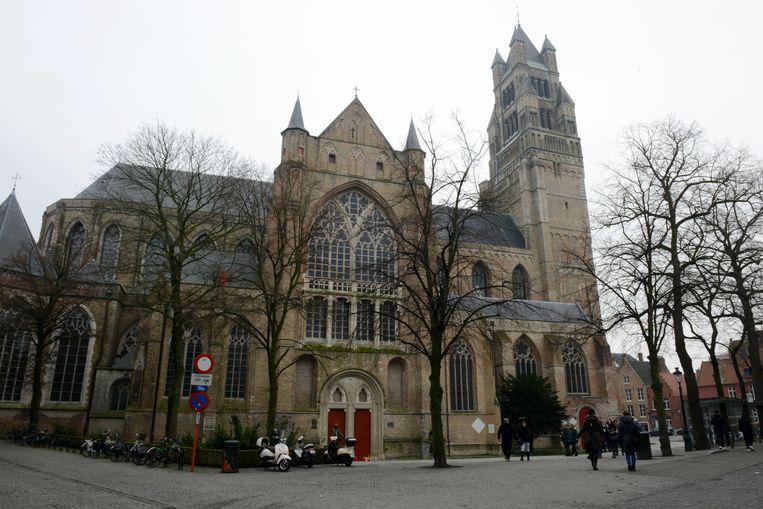 De Sint-Salvators Kathedraal in Brugge.