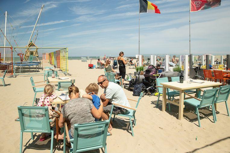 Het Belgische kustplaatsje Nieuwpoort, op 14 juni. Beeld BELGA