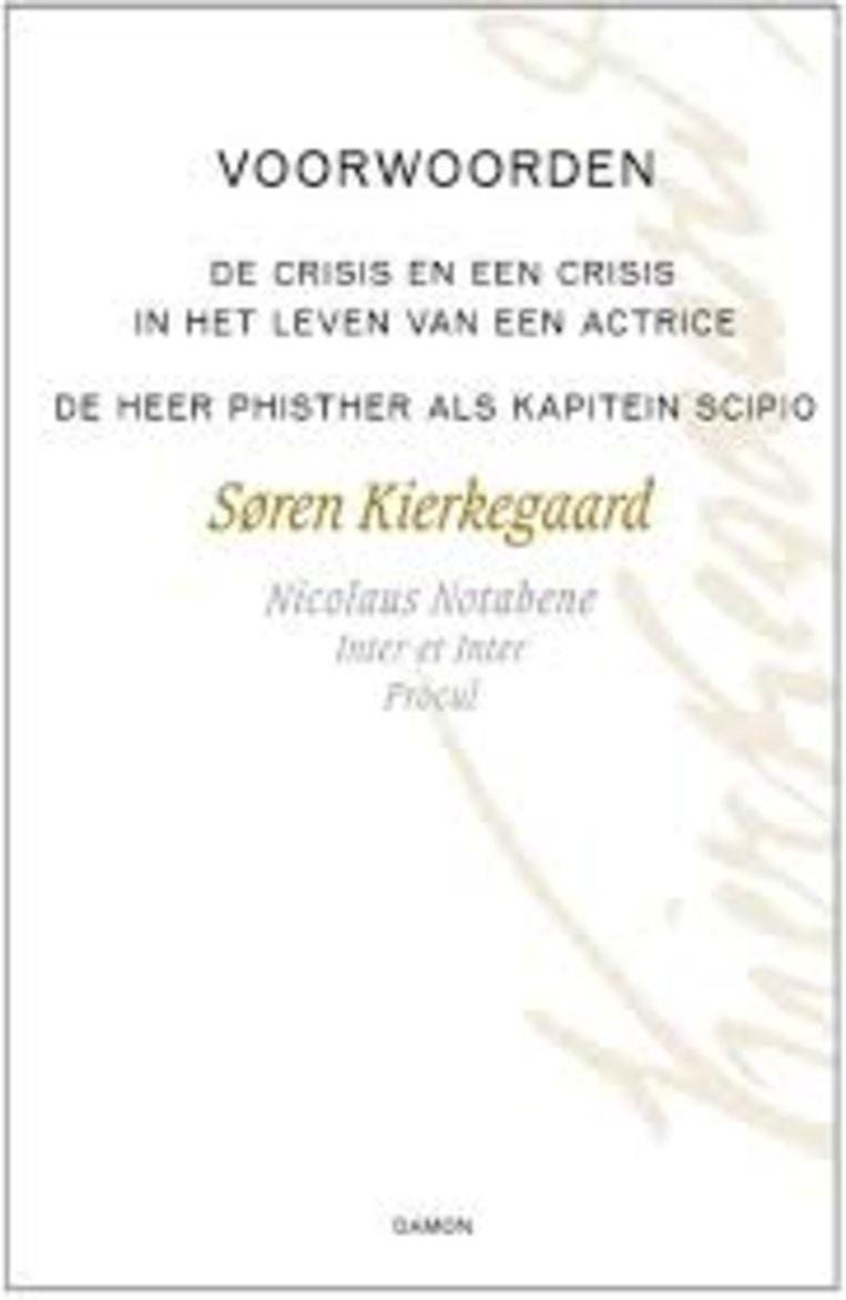 Cover van Voorwoorden. Beeld
