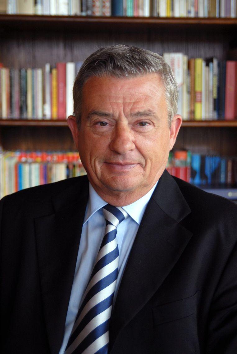 Luc Vandaele neemt afscheid van de rechtbank in ondernemingszaken.