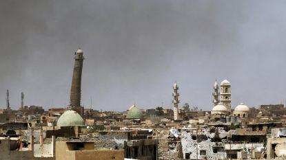 De door IS vernietigde Grote Moskee van Mosoel verrijst