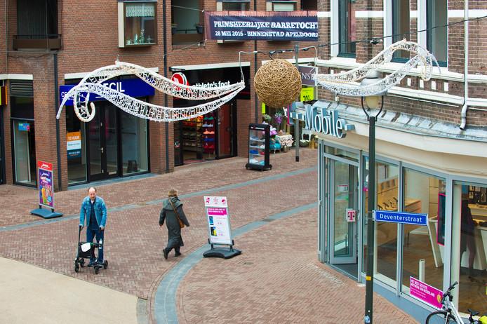 Het centrum van Apeldoorn.
