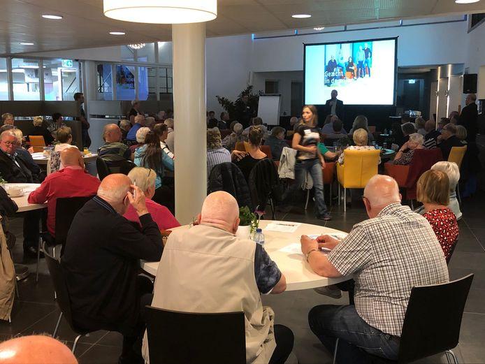 De jaarvergadering van Area zorgde vorig jaar voor een bomvolle zaal bij IBN in Uden.