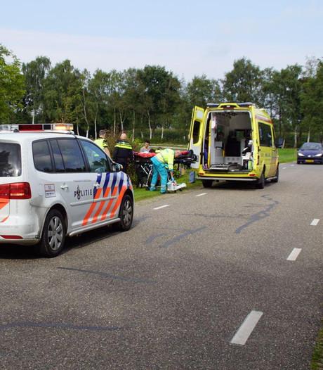 Doetinchemmer (65) gewond bij val met motor in Halle