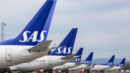 Luchtvaartmaatschappij SAS schrapt morgen nog eens 500 vluchten door staking