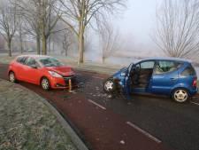 Gewonde bij frontale botsing in Doesburg