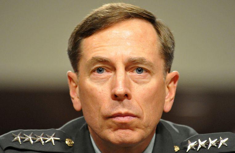 'De Amerikaanse generaal Petraeus (foto) bedacht in 2009 een naar eigen zeggen intelligent plan om IS in Irak te verslaan.' Beeld afp