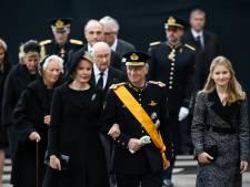 La famille royale dit adieu au grand-duc Jean