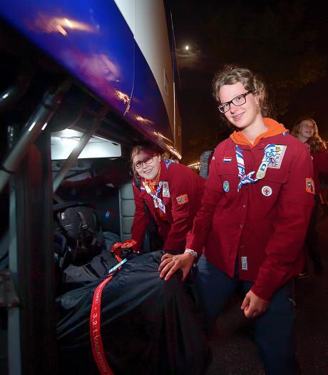 Scouts uit Bergen op Zoom en Roosendaal vertrekken naar World Jamboree