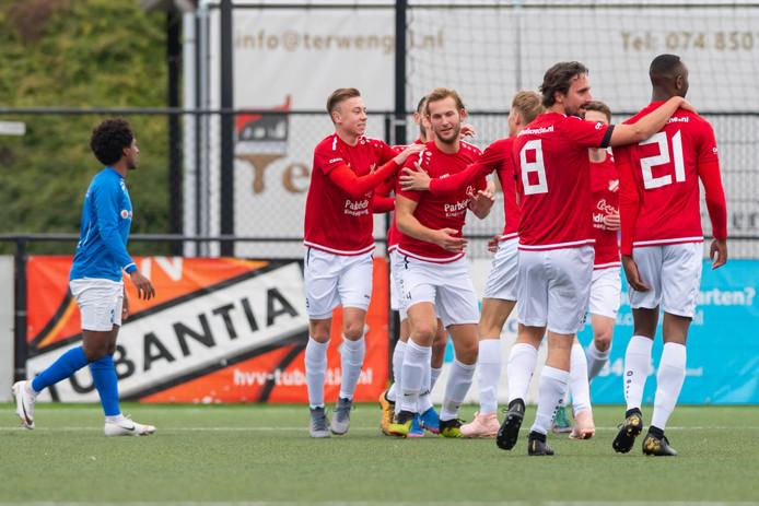 HVV Tubantia wil zo lang mogelijk op het hoogste zondagniveau blijven voetballen, zonder spelers te betalen.