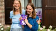 """18-jarige Hanne schrijft kinderboek, mama Ingrid zorgt voor illustraties: """"Hele middelbare schooltijd mee bezig geweest"""""""