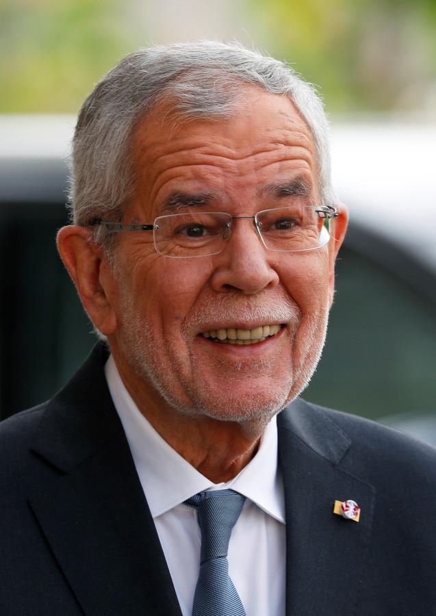 De Oostenrijkse bondspresident Alexander Van der Bellen.
