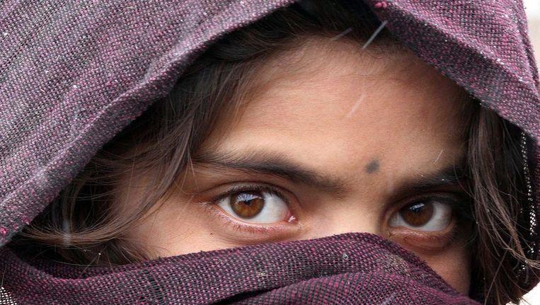 Archieffoto van een Afghaans meisje Beeld ANP