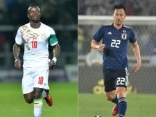 Yoshida en Mané voor even geen vrienden bij Japan-Senegal