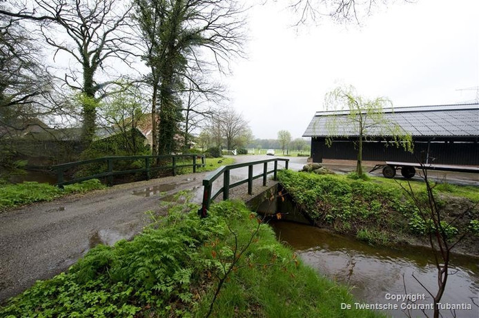De boerderij van Johan Harink in Oele.