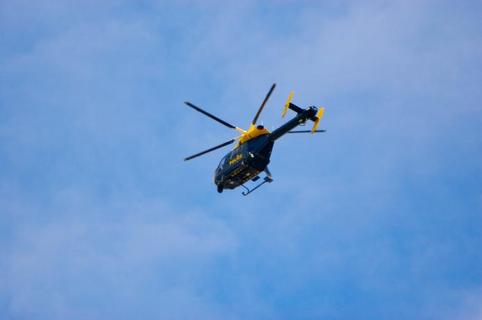 Britse politiehelikopter ter illustratie.