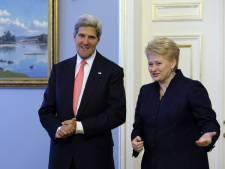 Kerry en Europe pour promouvoir une intervention