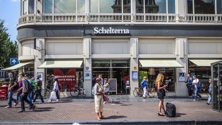 Het pand van Scheltema op het Koningsplein Beeld Floris Lok