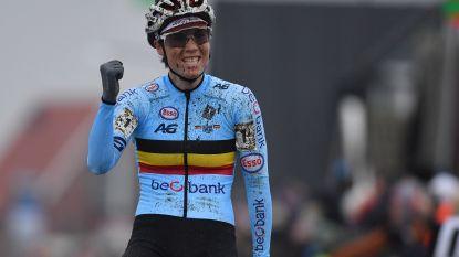 Sanne Cant rekent af met Brand, Vos en Betsema en is opnieuw wereldkampioene!