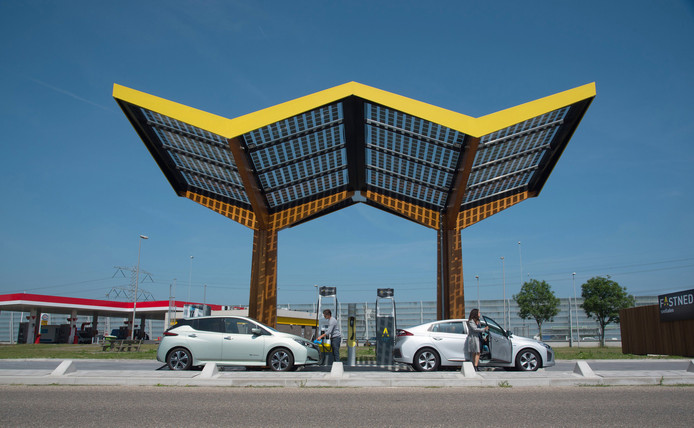 Laadpaalstation Fastned.