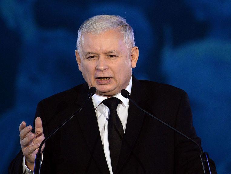 Jaroslaw Kaczynski. Beeld afp