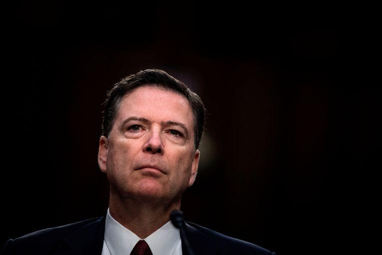 Voormalig FBI-directeur James Comey.  Beeld AFP