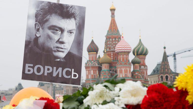 Boris Nemtsov, het jongste slachtoffer onder de steeds kleiner wordende kring van critici van het Kremlin. Beeld EPA