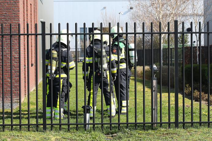 Brandweer in Oss bij BMT