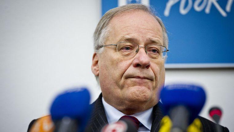 Wim Deetman, voorzitter van de commissie die het seksueel misbruik in rooms-katholieke instellingen onderzocht. Critici verwijten Deetman dat hij geen onderzoek heeft gedaan naar gedwongen castratie. Beeld ANP