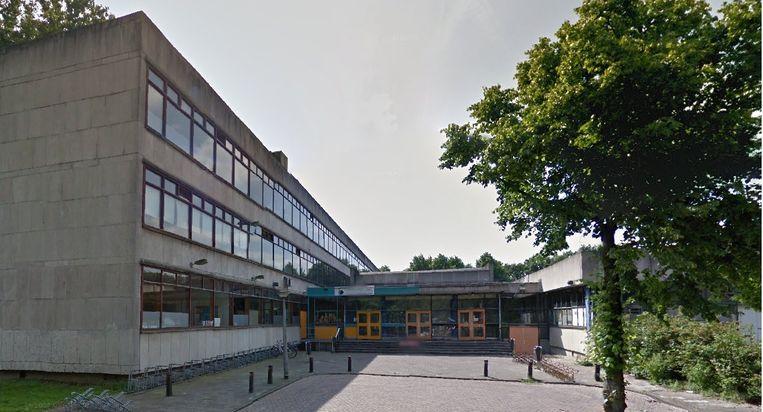 Het voormalige Iedersland College op de Doctor Jan van Breemenstraat 1. Beeld Google streetview