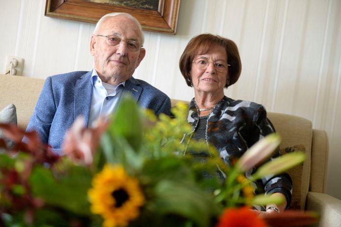 Het echtpaar Bruns-Aalberink was woensdag 60 jaar getrouwd.